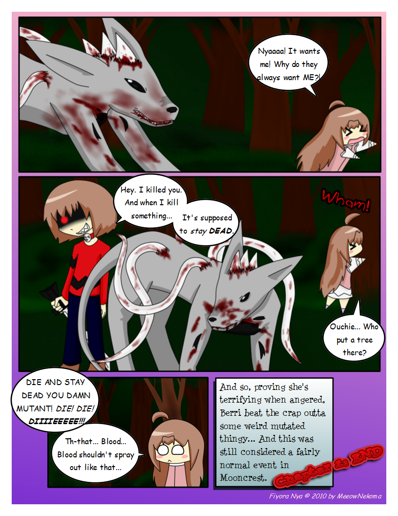 Page 14: Lookit all the blood!
