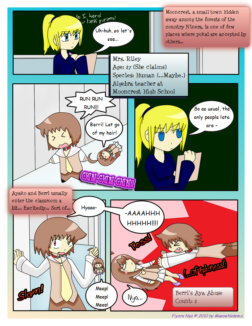 Page 11: Amazing Entrance!