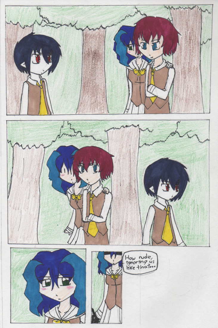 Page 25: Punishment From  the Creepy Girl?
