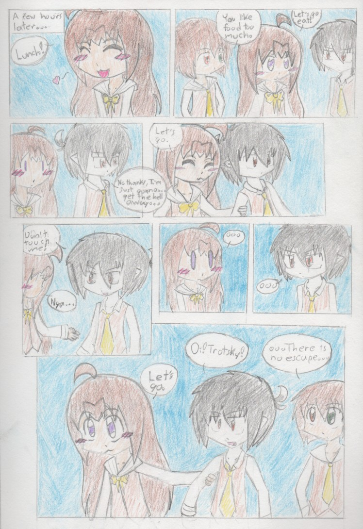 Page 16: No Escape!