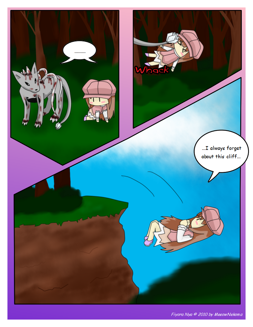 Page 5: Oh, a Cliff...